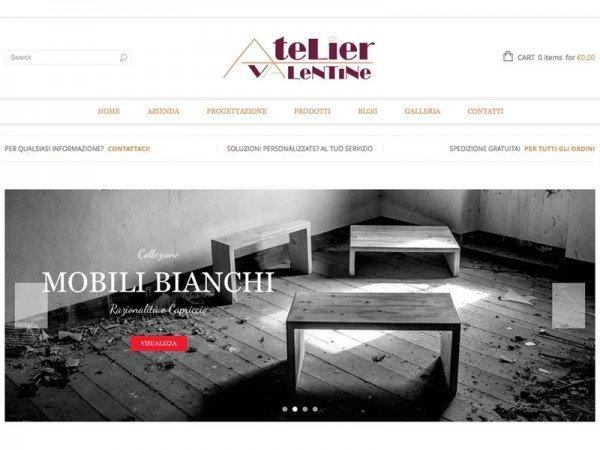 Sito Web Atelier Valentine