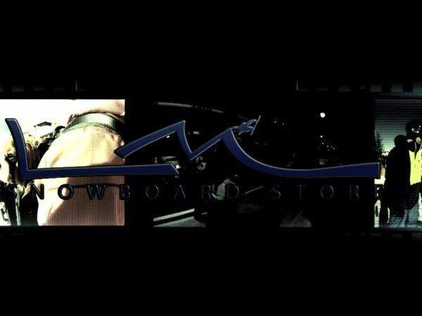 Trailer Campiglio con LM Board Store