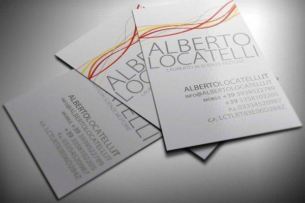 Biglietto Da Visita Locatelli